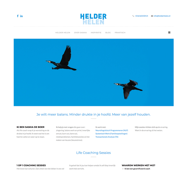 Website Helder Helen